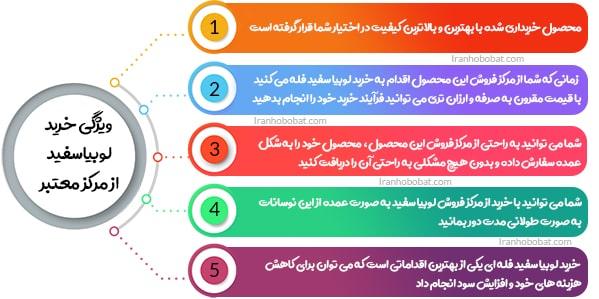 فروش لوبیاسفید ایرانی